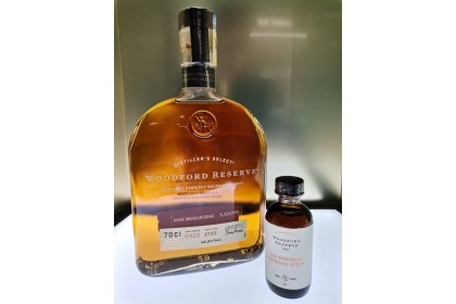 WOODFORD RESERVE KENTUCKY STRAIGHT BOURBON WHISKEY (FOC 1 BOT OLD FASHIONED COCKTAIL SYRUP)